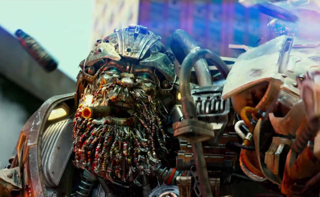 Transformers Now Have Beards!!!  New Beatnik AGE OF EXTINCTION Teaser