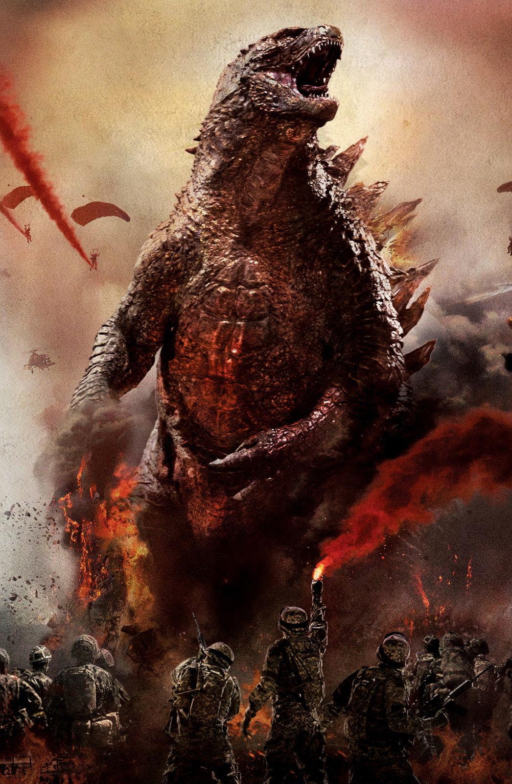 Godzilla Textless Poster