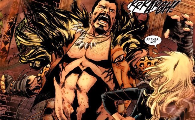 Kraven be Huntin' SPIDER-MAN in His Next Movie