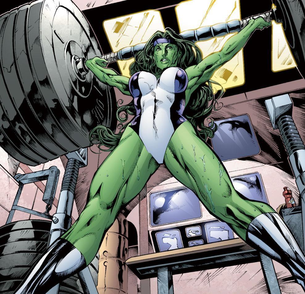 "Hulk Fucks She Hulk Classy david s. goyer labels she-hulk ""porn star,"" martian manhunter"