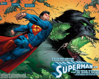 PREVIEW: SUPERMAN #32 by Geoff Johns and John Romita Jr.