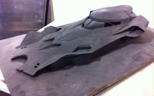 Full Look At Batman Vs Superman Batmobile