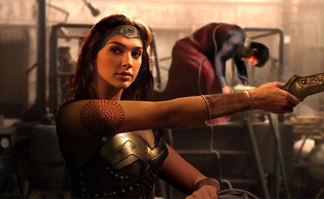 First Wonder Woman Pic!  Gal Gadot Is Fierce
