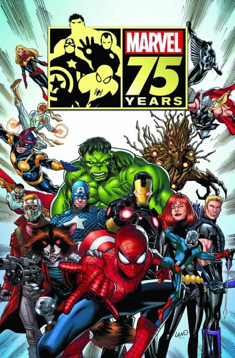 marvel 75th aniversary magazine 2