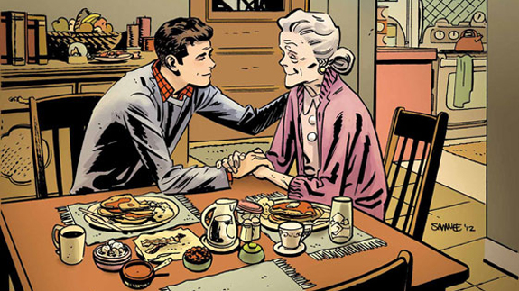 peter parker aunt may
