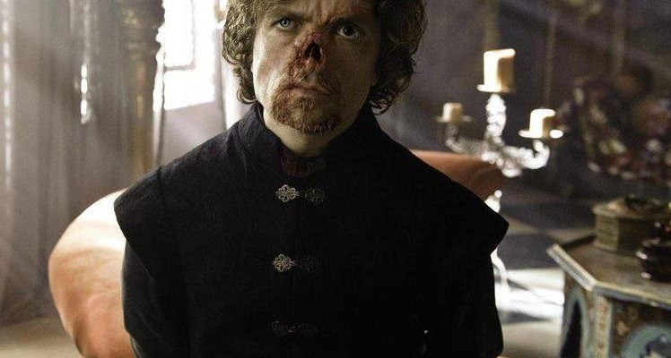 tyrion lannister really looks no nose