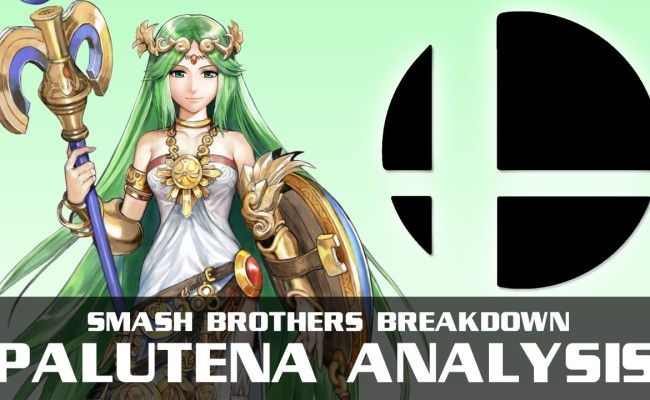 PALUTENA Graces SUPER SMASH BROS!