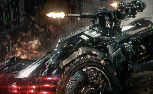BATMAN: ARKHAM KNIGHT's Batmobile Is The Coolest Thing At E3