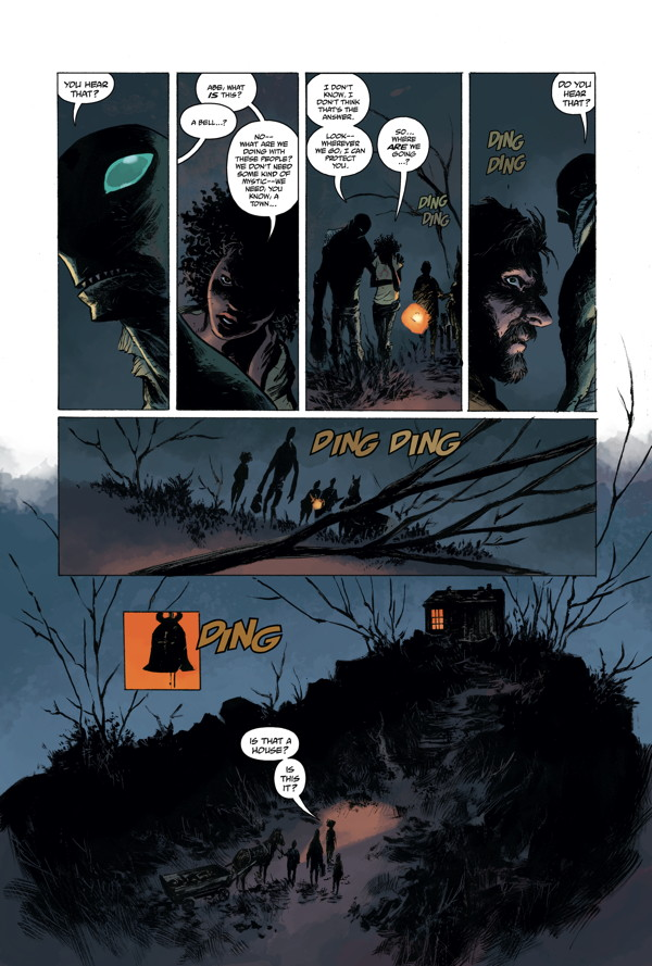 Abe Sapien 13_Preview Page