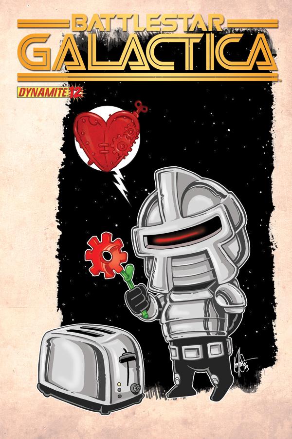 Battlestar Galactica #12 variant
