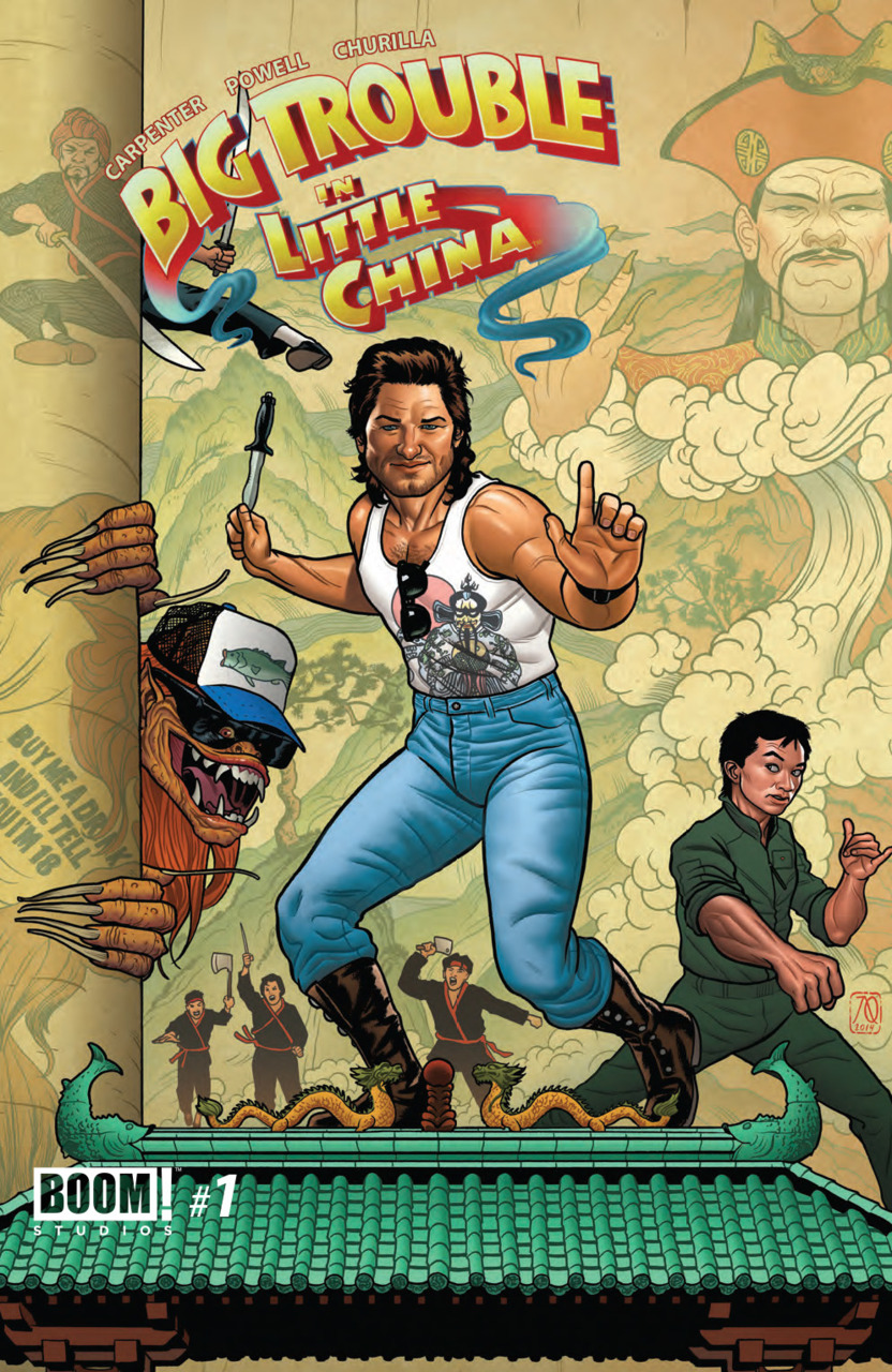 Big Trouble in Little China #1 variant
