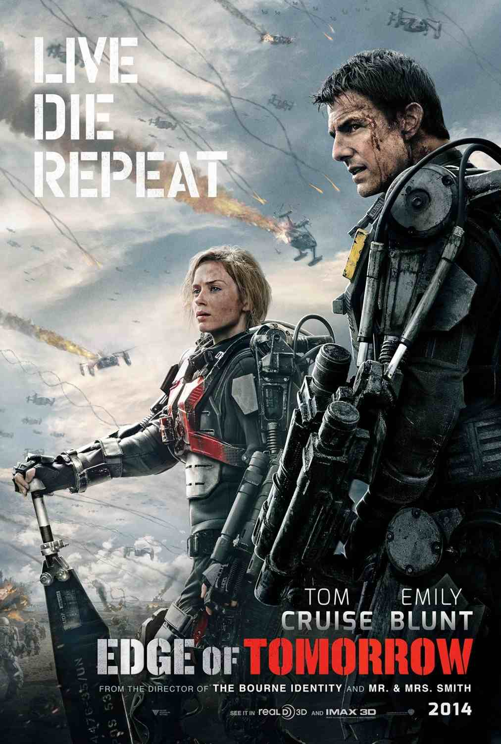 Edge of Tomorrow poster