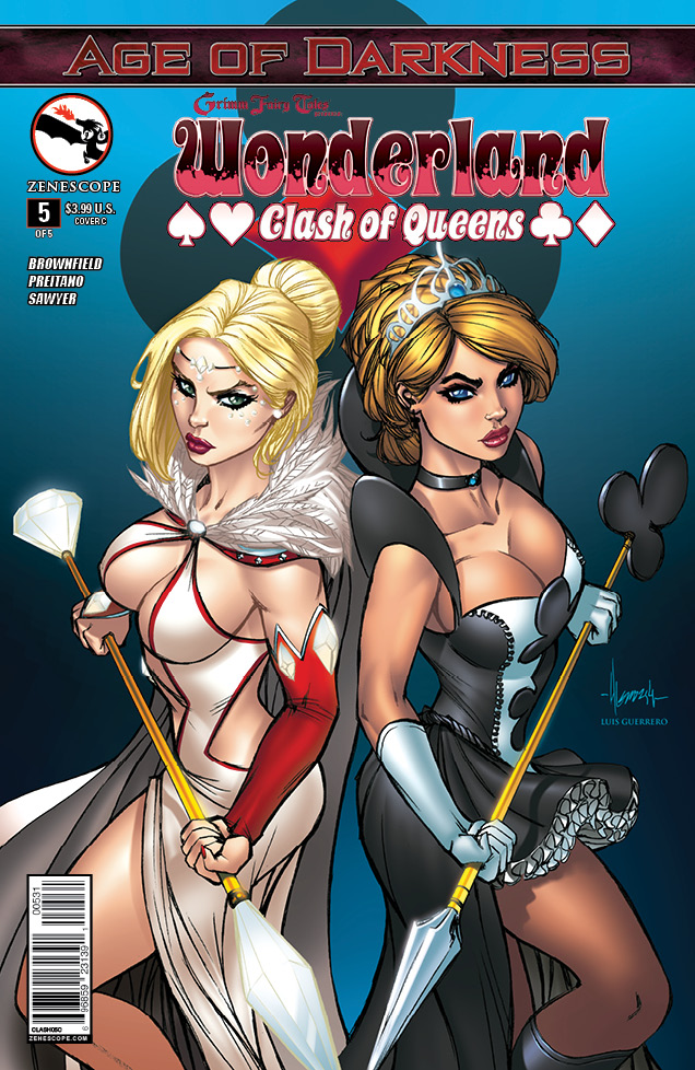 GFT Clash of Queens 5_Variant Cover