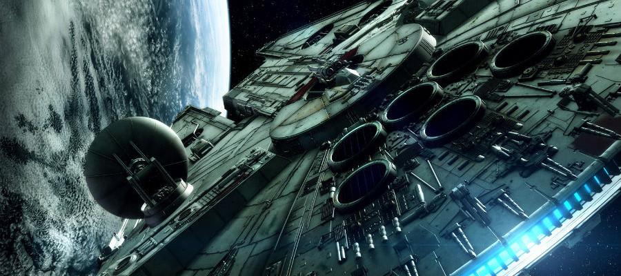 Millennium falcon star wars epiosde 7