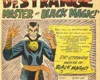 The Dark World of Doctor Strange, Master of The Mystic Arts