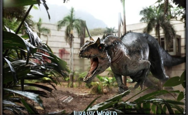 First Image of Freak DIABOLUS REX in JURASSIC WORLD