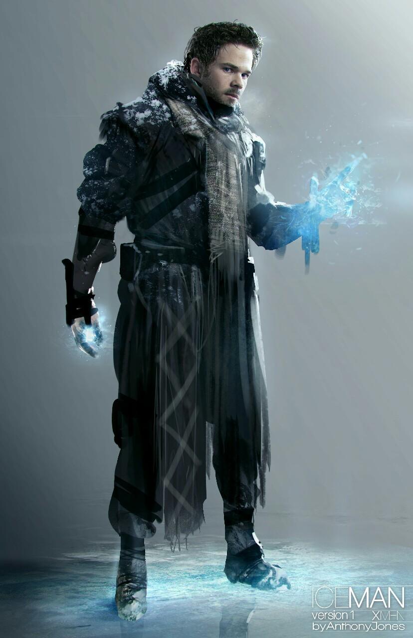 X Men Days Of Future Past Iceman Every Piece of ICEMAN ...