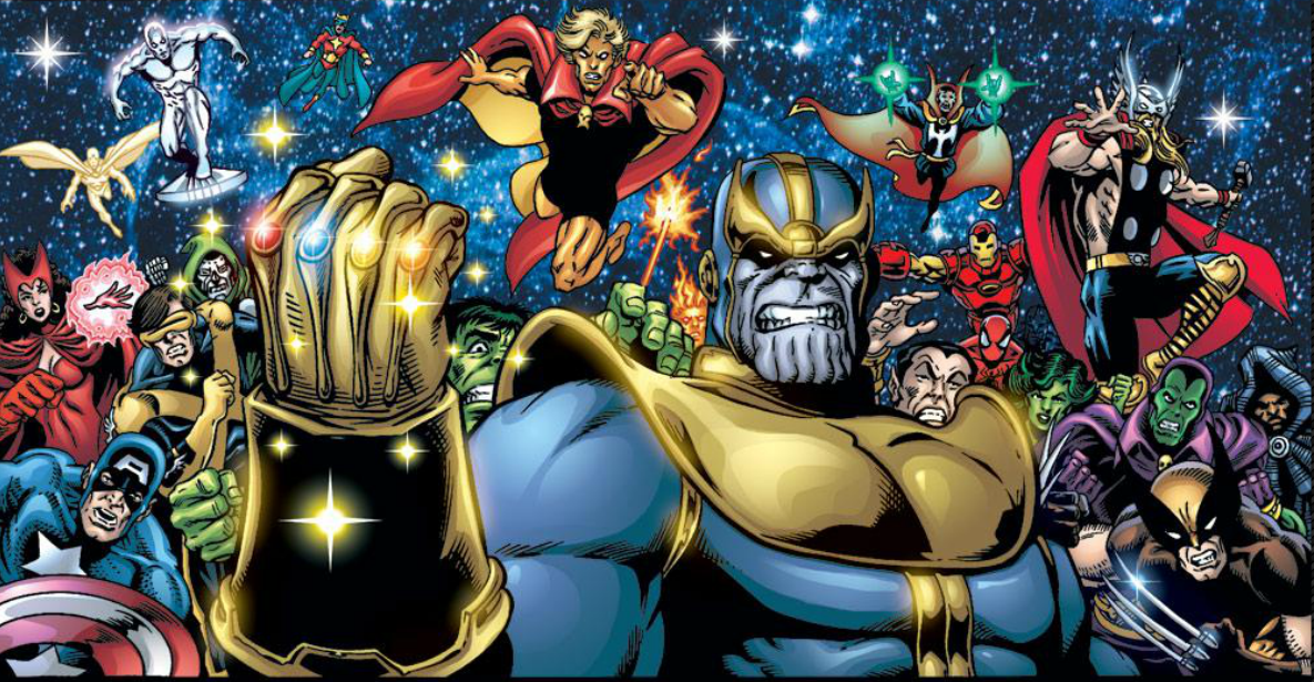 thanos infinity guantlet
