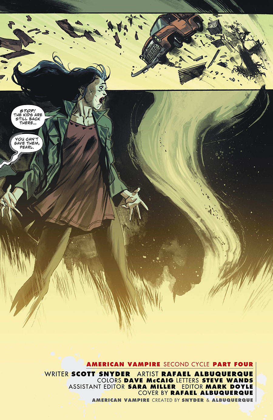 American Vampire Second Cycle #4 preview