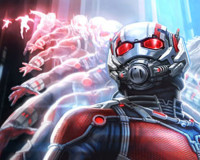 Get On His Level! ANT-MAN Comic-Con Poster Revealed