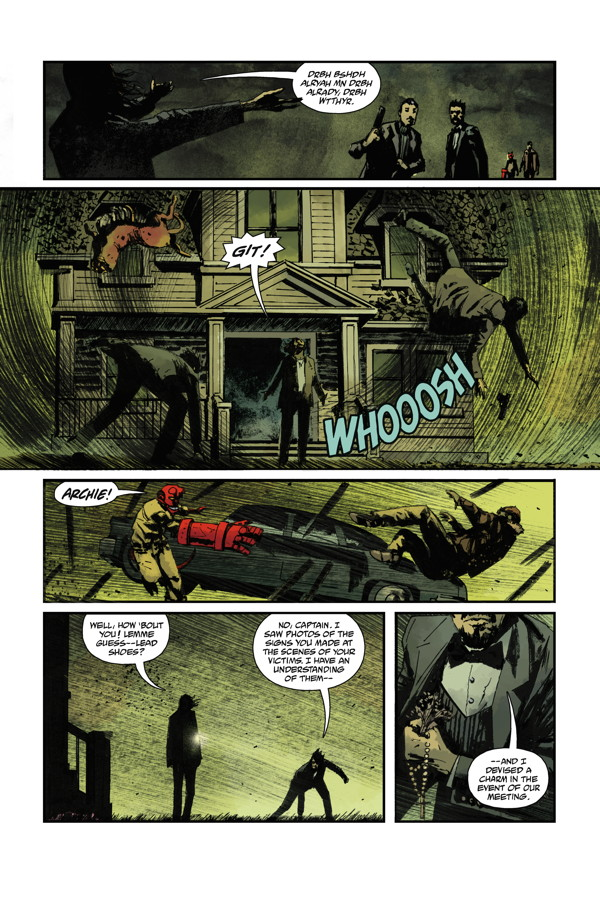 B.P.R.D. Hell on Earth 121_Preview Page