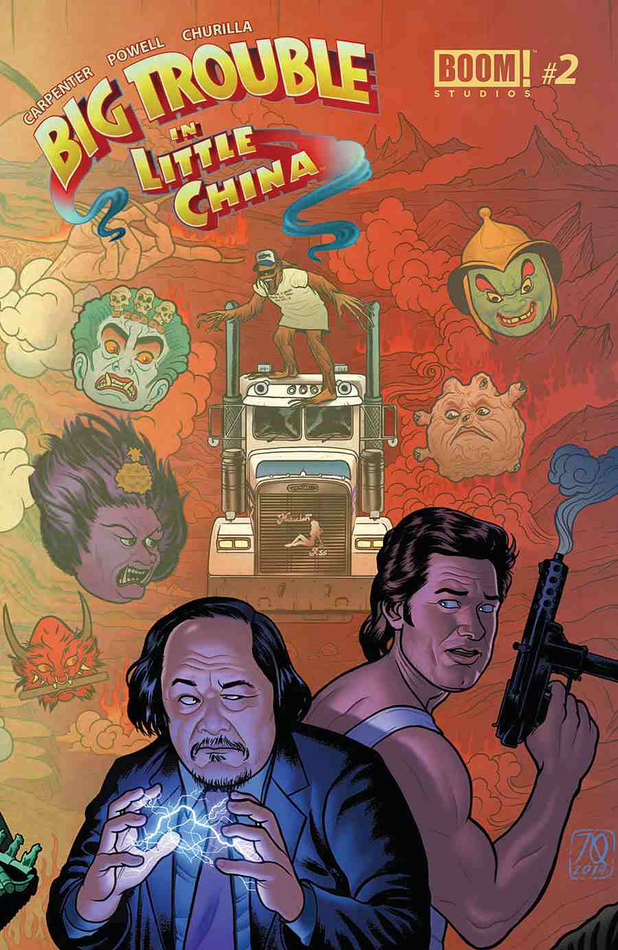 Big Trouble in Little China #2 variant