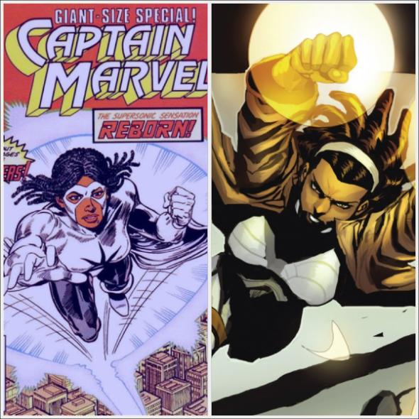 Captain Marvel - Monica Rambeau