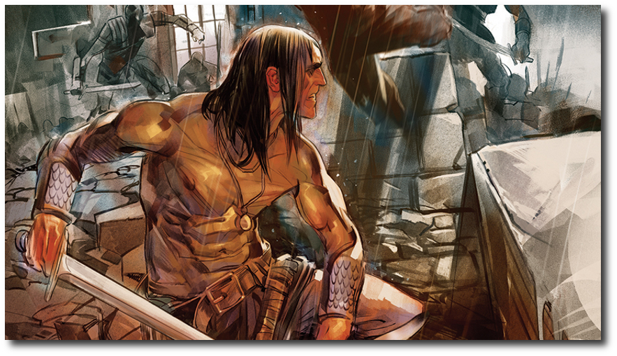 Conan Dark Horse Widescreen