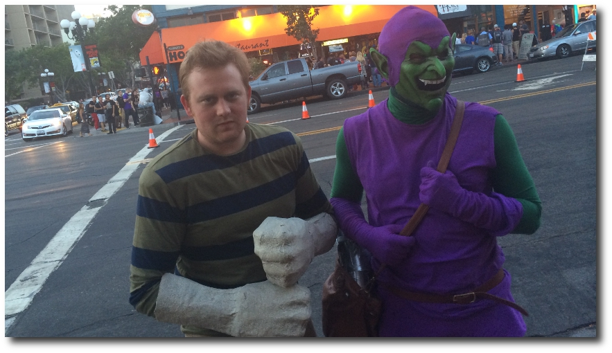Cosplay in the Streets Widescreen