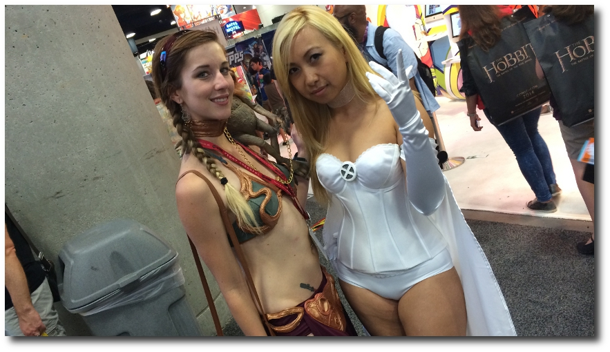 Cosplayers SDCC 2014 Widescreen