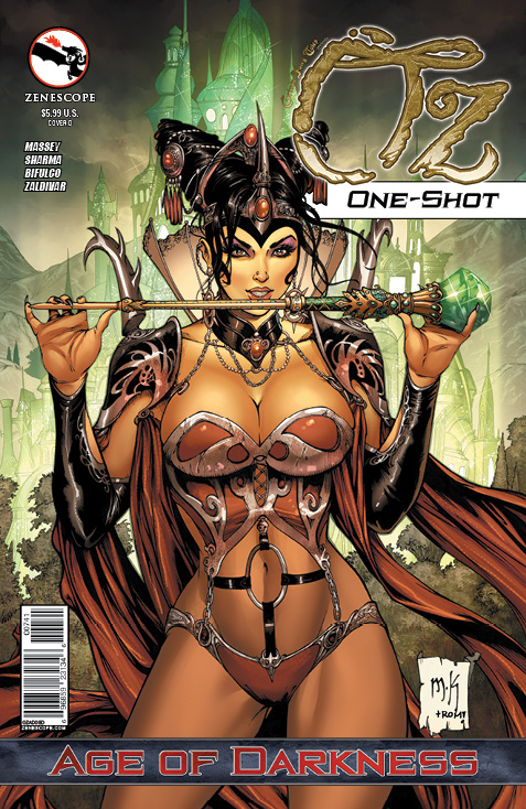 GFT Oz-Age of Darkness One-Shot_Variant Cover
