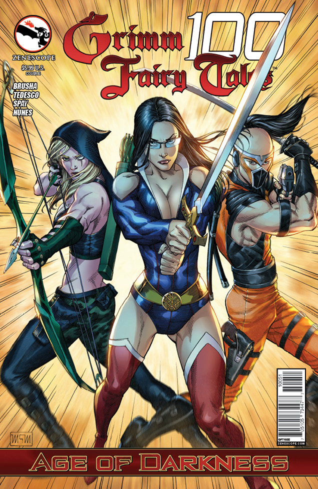 Grimm Fairy Tales 100_Variant Cover