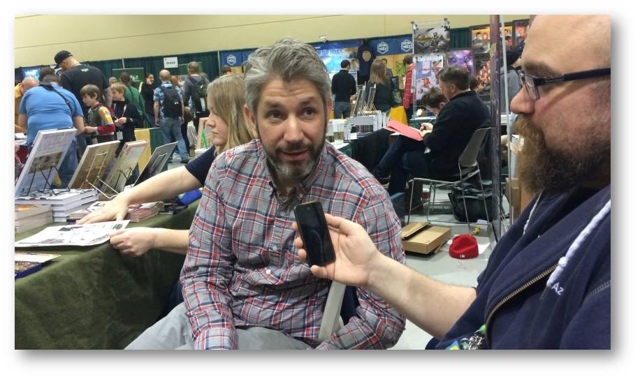 Matt Kindt Interview Live Shot Preview