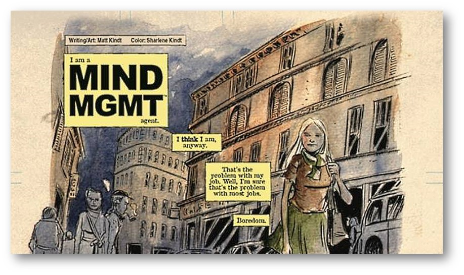 Mind MGMT Dark Horse Presents 31 Preview