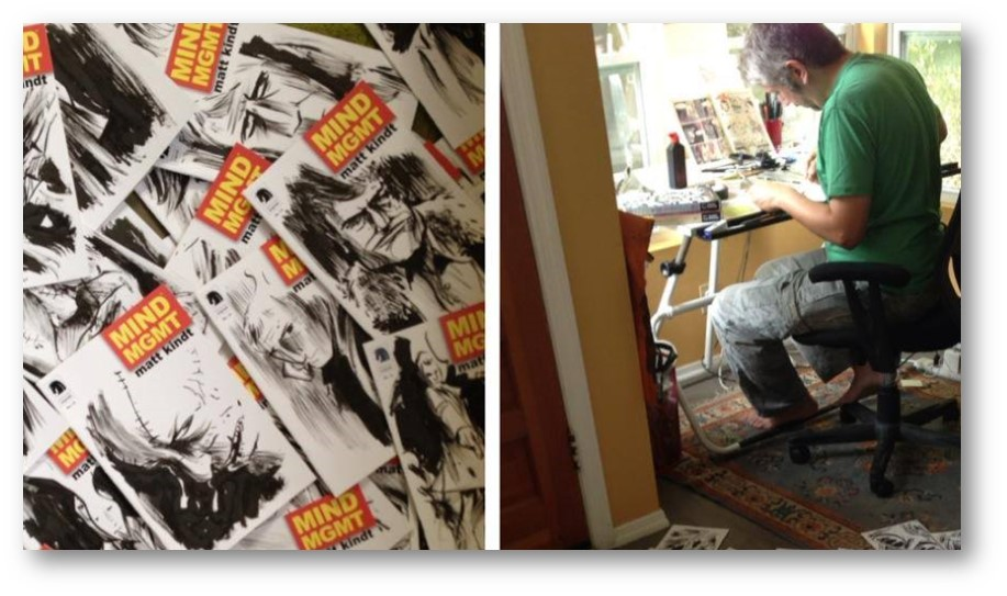 Mind MGMT Sketch Covers Preview