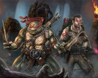 Ghostbusters to meet The Teenage Mutant Ninja Turtles