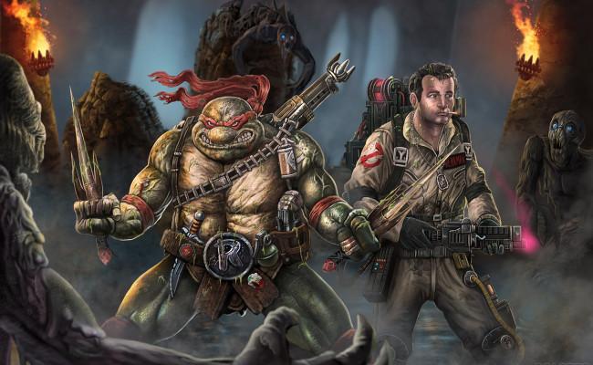 Ghostbusters to meet The Teenage Mutant Ninja Turtles