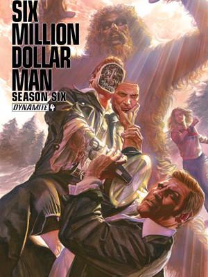 Six Million Dollar Man Series 6 Issue 4