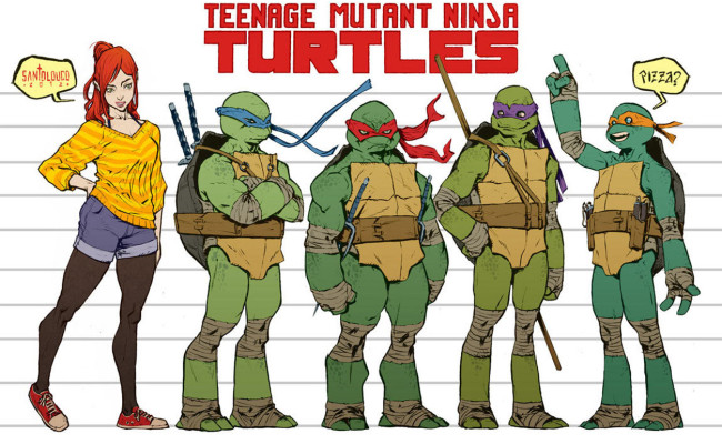 Hey IDW! Your TEENAGE MUTANT NINJA TURTLES Title Totally Rocks