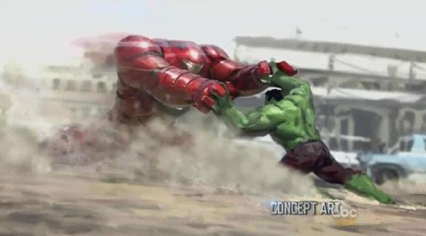 hulk iron man fight avengers age of ultron