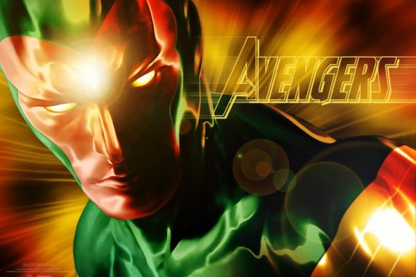 VISION!!!  First Pic of Paul Bettany's Hero from AVENGERS: AGE OF ULTRON