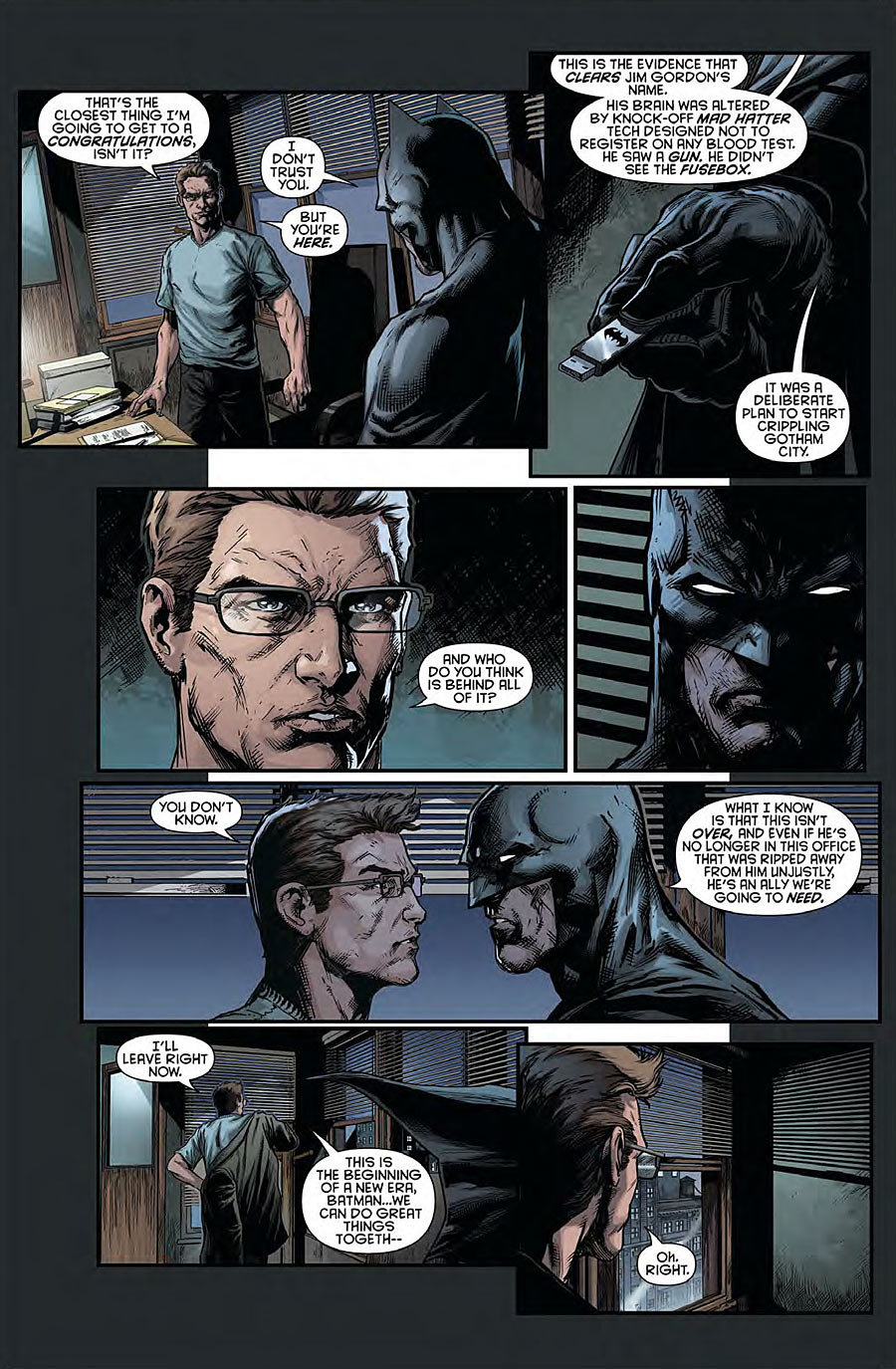 Batman Eternal #21 preview