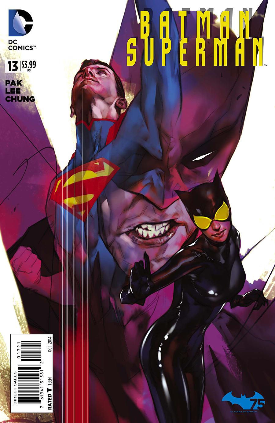 Batman Superman #13 variant