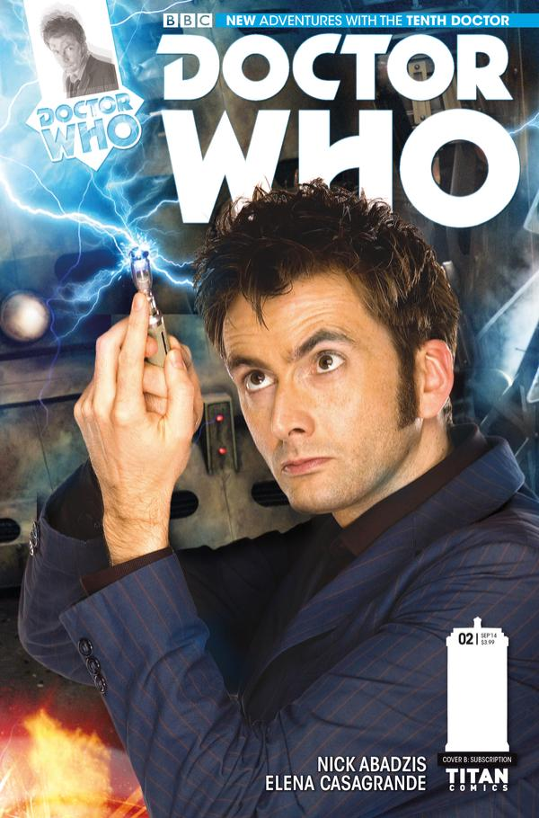 Doctor Who Tenth Doctor #2 Cover B