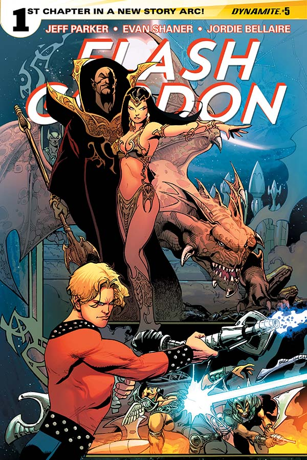 Flash Gordon 5_Variant Cover