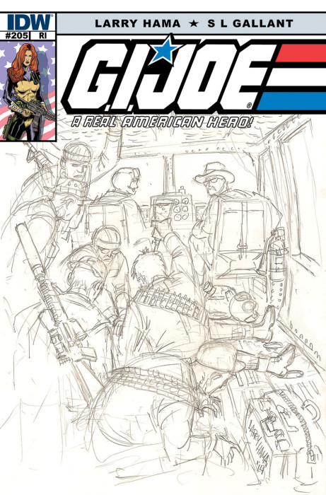 G.I Joe A Real American Hero 205 cover 2