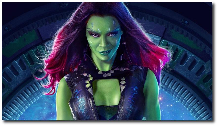GOTG Gamora Poster Widescreen