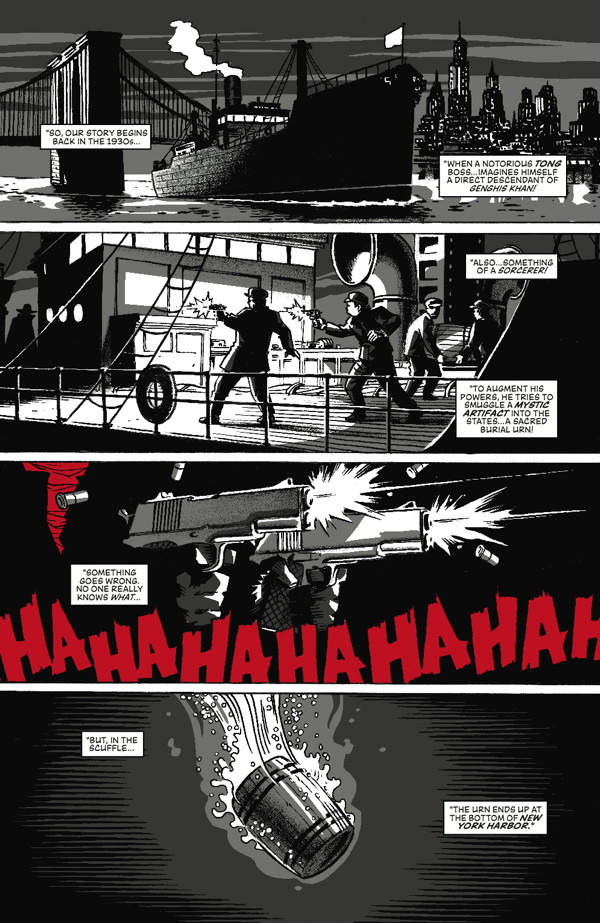 Grendel vs. The Shadow 1_Preview Page
