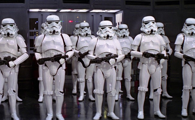 The Stormtroopers Are Rocking A New Look For STAR WARS EPISODE VII