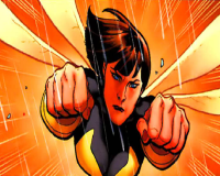 Evangeline Lilly Rocks Wasp-Like Hairdo for ANT-MAN